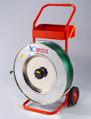 Decoiler H-84 for steel and plastic strap